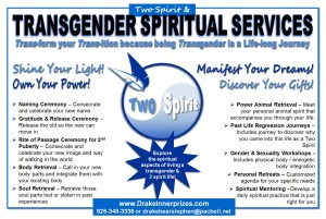Two Spirit & Transgender Spiritual Services